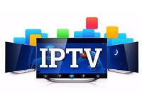FULL 12 MONTHS IPTV (TRY BEFORE YOU BUY) - WORKS ON SMART TV, IPHONES/IPAD, ANDROID, FIRE STICKS ETC