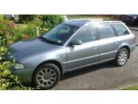 Audi A4 Avant 1.9 TDI SE loved and cherished with 12 months MOT, FSH