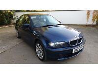 BMW 316I 1.8 2004 PETROL BLUE