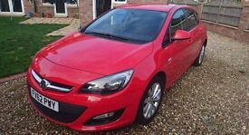 Astra 1.4 Active in Power red.