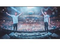 ***** x4 THE CHAINSMOKERS @ ALEXANDRA PALACE*****