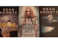 3x Brand new Dean Koontz books (horror)