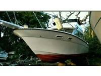 Bayliner 2850 flybridge boat