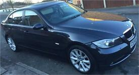 BMW 320D 3 SERIES 2.0 DIESEL 2008 MANUAL LOW MILEAGE MOT UNTIL AUGUST GOOD CONDITION CLEAN INTERIOR