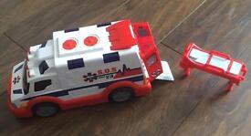 Large ambulance toy