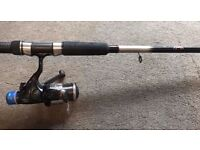 Red Wolf Fishing Rod & Okuma Fishing Reel Set Up - For Float, Carp or Spinning