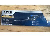 Mac 520w hedge trimmer new on box