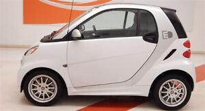 2016 smart fortwo electric drive TRIDION WHITE -- PANORAMA GLASS