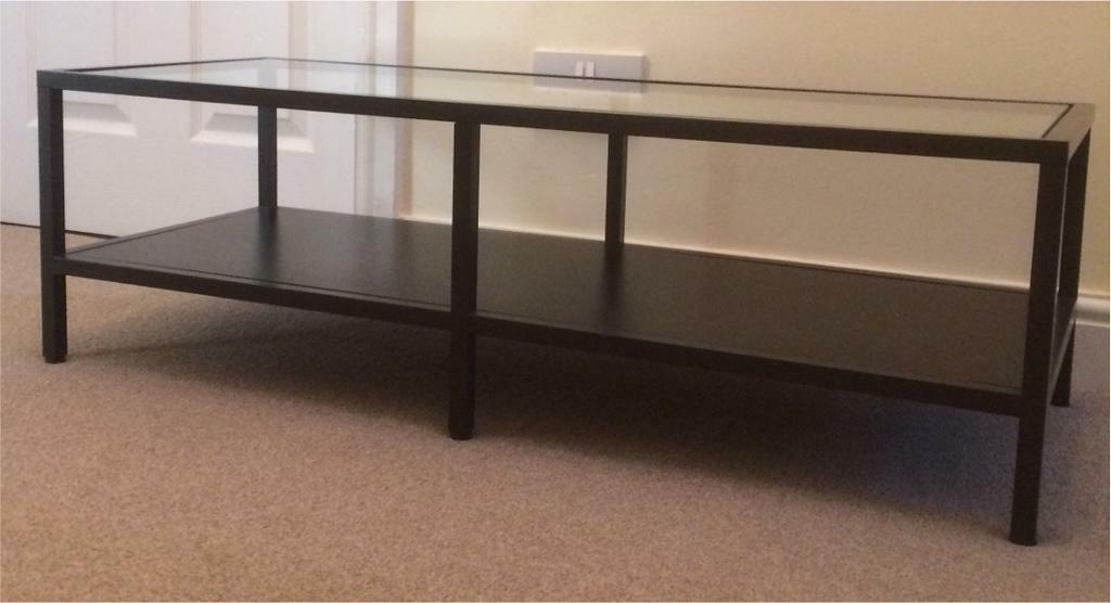 Ikea vittsjo table tv stand in leicester leicestershire gumtree