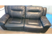dfs Serene 3 Seater Leather Recliner Sofa RRP £1758 *Delivery Available*