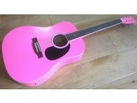 Rikter Electro Acoustic Dreadnought Guitar Full Size 4/4 Excellent Condition