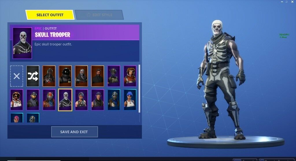 how to get an account with skull trooper