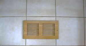 air vent wood cover