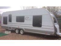 2013 Tabbert Princess 640 caravan 5 berth TOP OF THE RANGE **NEW CONDITION **