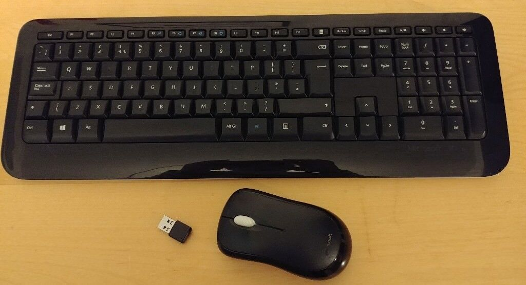 1942e21fdc6 Microsoft 800 Wireless Keyboard and Wireless Mouse 1000 | in ...