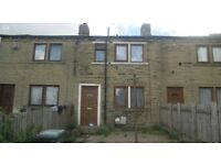 2 bed front back to back house to let