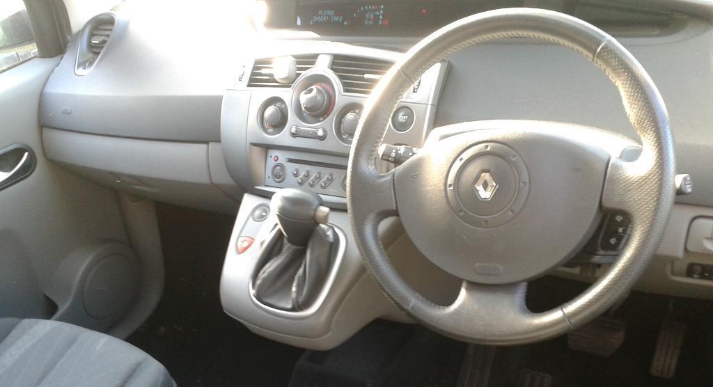 Renault Scenic 2005 Interior Renault Scenic 2005 54 Reg