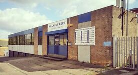 PALM STREET BUSINESS CENTRE - DESK SPACE - SERVICED OFFICE SUITES - NEW BASFORD, NOTTINGHAM, NG7 7HS