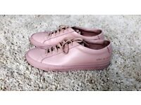 COMMON PROJECTS Original Achilles Leather Sneakers Trainers PINK 40