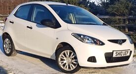 MAZDA 2 TS, PEARLESCENT WHITE, 5 DOOR, ASK US FOR A FINANCE QUOTE ON THIS CAR.