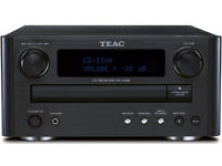 Teac Reference CR-H248 CD WITH A PAIR OF TDL NUCLEUS 1 SPEAKERS