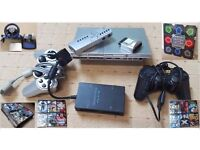 PS2 Slim/Sliver, 50+ games, Racing Wheel, Dancing Pad and Much Much More