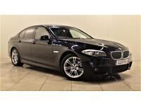 BMW 5 SERIES 2.0 520D M SPORT 4d 181 BHP + 1 PREV OWNER + SERV (black) 2011