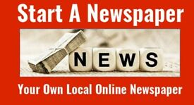 Online Newspaper Franchise - Hackney (other boroughs available)
