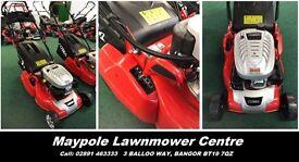 """New COBRA Electric Start Rear Roller Lawnmower - 18"""" Cut, 2 Year Warranty"""