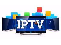 FULL 12 MONTHS IPTV - WORKS ON SMART TV, IPHONES/IPAD, ANDROID, FIRE STICKS ETC