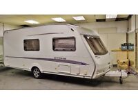 2005/06 SWIFT UTOPIA 530 (CHALLENGER), 4 BERTH WITH END BATHROOM & FULL SIZE AWNING + EXTRAS!
