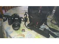 Nikon D3100 body + original 18-55mm kit lens// For sale! Good price, dont miss a chance!