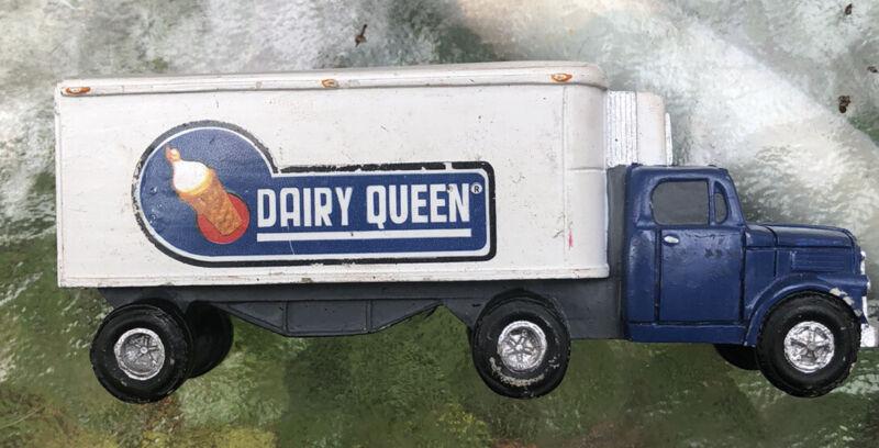 Hawthorne Village Dairy Queen Delivery Truck Porcelain Main Street 1997 Vtg