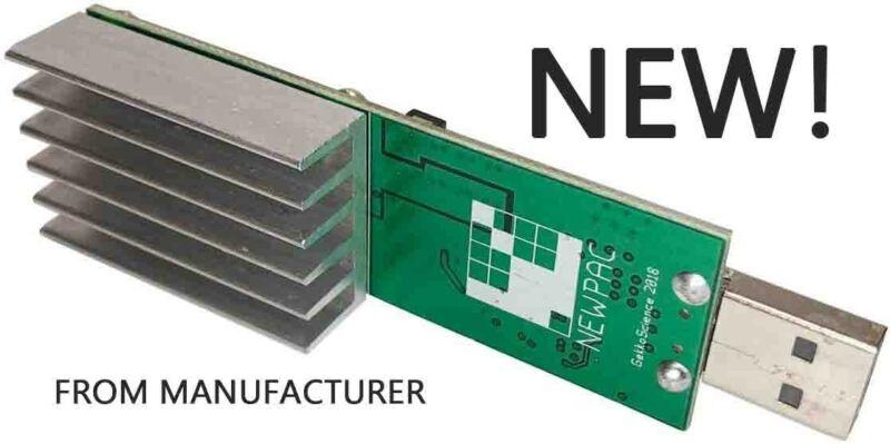 GekkoScience NEWPAC (BM1387) ASIC Bitcoin Block Erupter *Top USB Miner!*