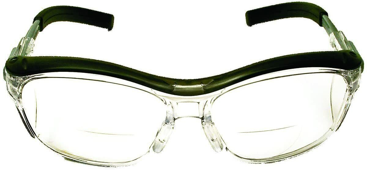 3M™ Nuvo Reader Eyewear 11435-00000-20 ANSI Z87 Clear Lens Gray Frame +2.0 Business & Industrial