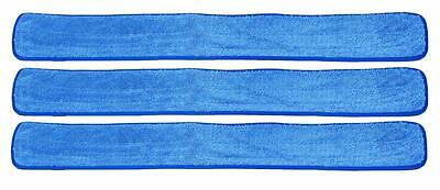 48 Commercial Industrial Microfiber Wet Mop Pad For 48 Inch Mop Frames 3 Pack