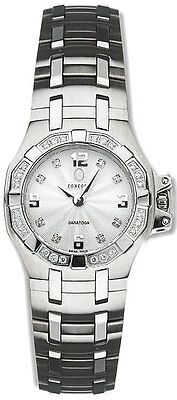 Free Shipping Concord Womens 0310957 Saratoga Watch 32 Diamonds New With Tags