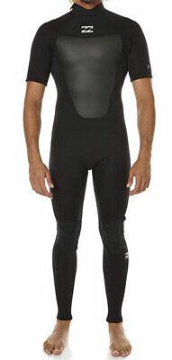fe4cfaa71cb9 BILLABONG Men's 2/2 ABSOLUTE COMP BZ S/S Wetsuit - BLK - Medium - NWT