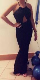Women's Sexy Black Maxi Dress