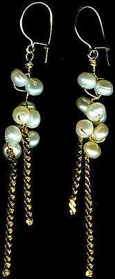 "Antique Salt Water Pearl 14ktGF Ancient Greece ""Moon Dew"" Ocean Lightening"