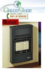 Stufa murale gas gpl raggi infrarossi sicar eco 40 ebay for Sicar eco 40
