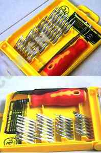 32 IN 1 SCREW DRIVER MICRO TOOL KIT REPAIR SET LAPTOP PC MAC COMPUTER MOBILE