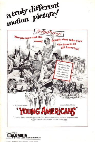 YOUNG AMERICANS pressbook, starring TEENS all over the USA, Milton C. Anderson
