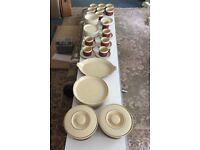 Hornsea Pottery Dinner Service