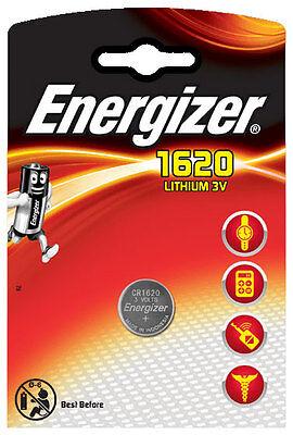 3 x Energizer Batterie CR1620 Lithium 3V  CR 1620 Knopfzelle Battery NEU Blister Energizer Lithium-batterien