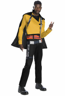 Star Wars Story Solo Lando Calrissian Erwachsene Kostüm Größe Standard Neu 3861 (Lando Calrissian Kostüm)