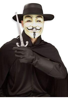 V for Vendetta - Adult Costume - V For Vendetta Gloves