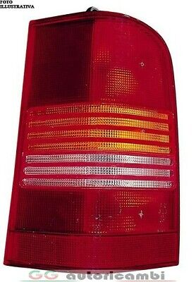 Rückleuchte für Mercedes V Viano W414 96-03 Orange-Rot Links