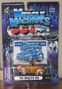 Muscle Machines ,  M2 Diecast  Models , , Mustang   ,, 57 Chevy