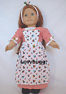 Colonial Birthday Dress for 18 inch Doll Clothes American Girl   Widest Variety